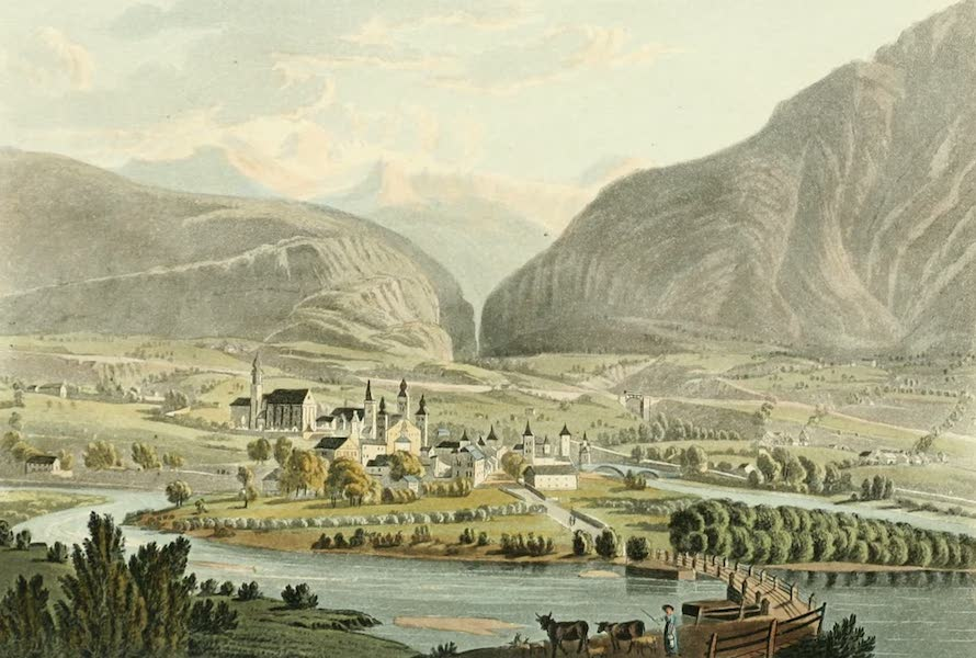 Picturesque Tour from Geneva to Milan - View of Breig (1820)