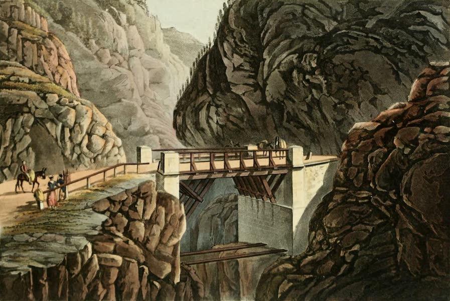 Picturesque Tour from Geneva to Milan - Alto Bridge (1820)
