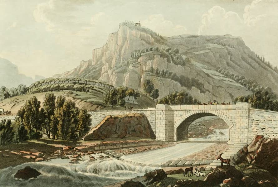 Picturesque Tour from Geneva to Milan - View of a Bridge over the Cherasca (1820)