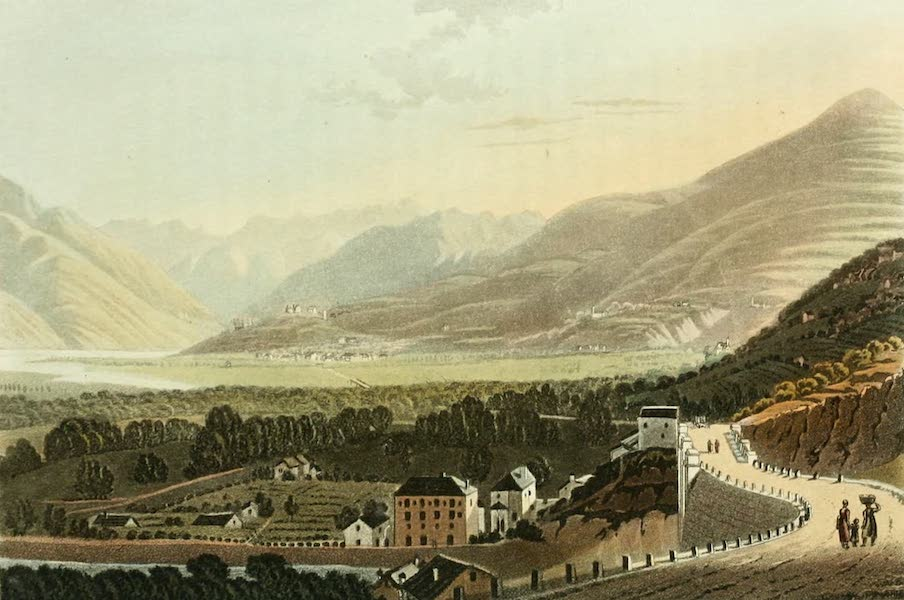 Picturesque Tour from Geneva to Milan - View of the Bridge of Crevola and of the Valley of Domo Dossola (1820)