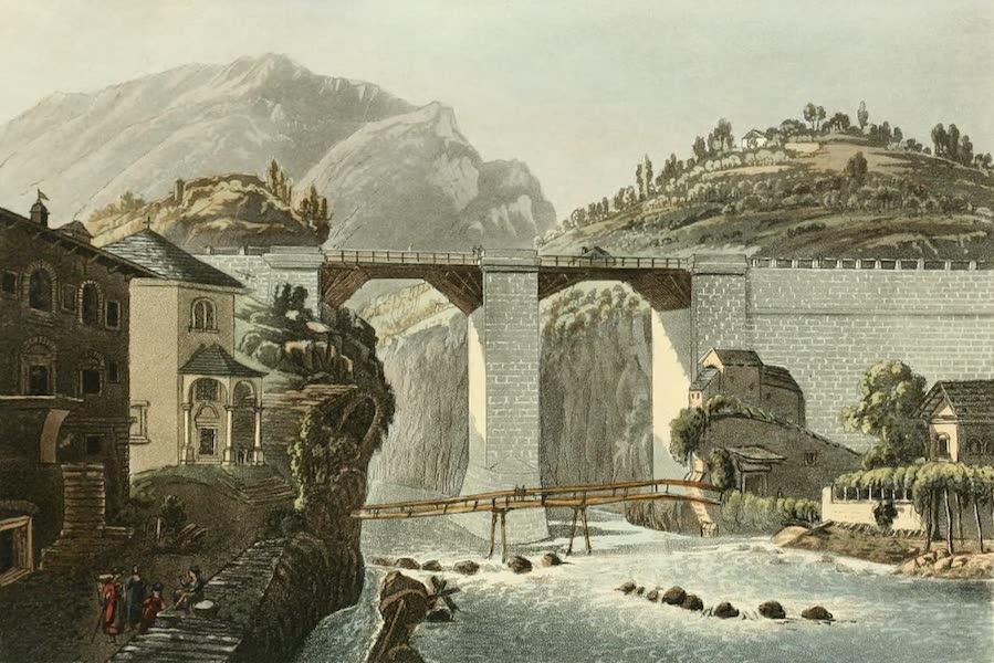 Picturesque Tour from Geneva to Milan - Bridge of Crevola (1820)
