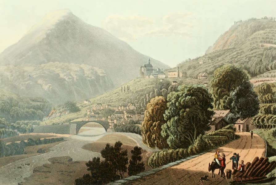 Picturesque Tour from Geneva to Milan - Villa (1820)