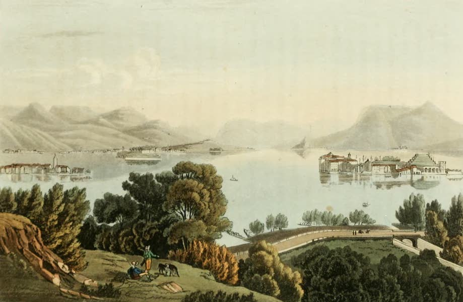 Picturesque Tour from Geneva to Milan - View of the Lago Maggiore and the Boromeo Islands (1820)