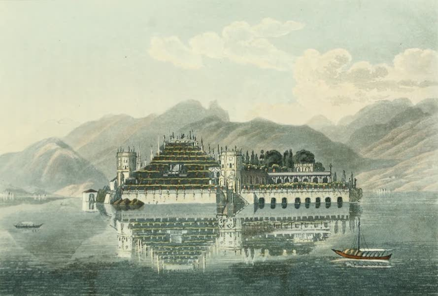 Picturesque Tour from Geneva to Milan - View of the Beautiful Island (1820)