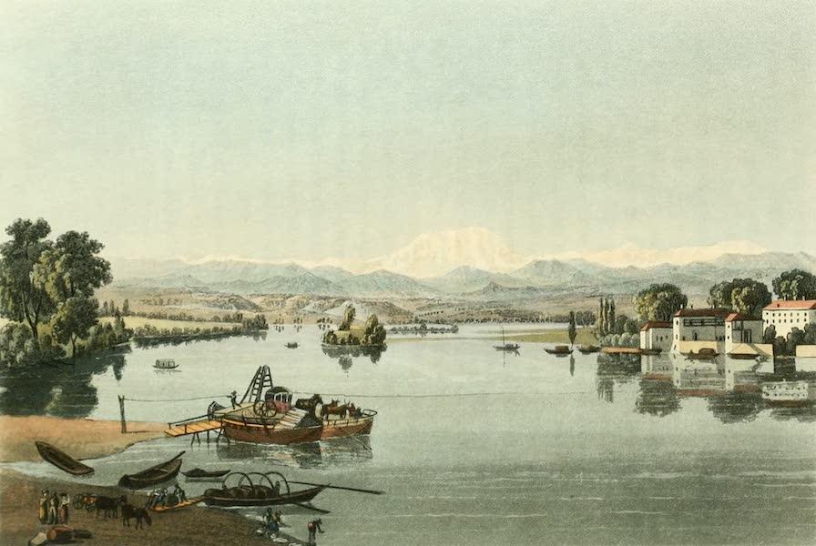 Picturesque Tour from Geneva to Milan - View of Sesto (1820)
