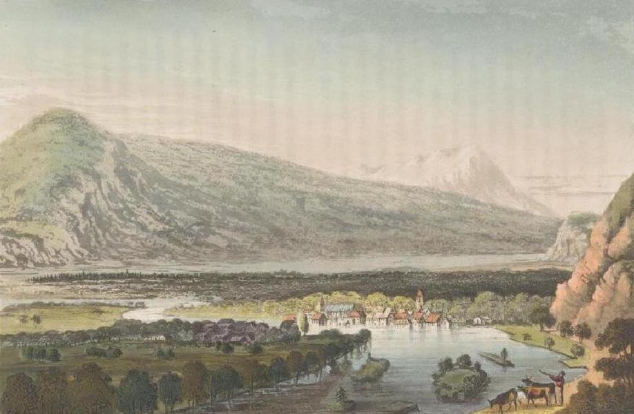 Picturesque Tour through the Oberland - View of Unterseen (1823)