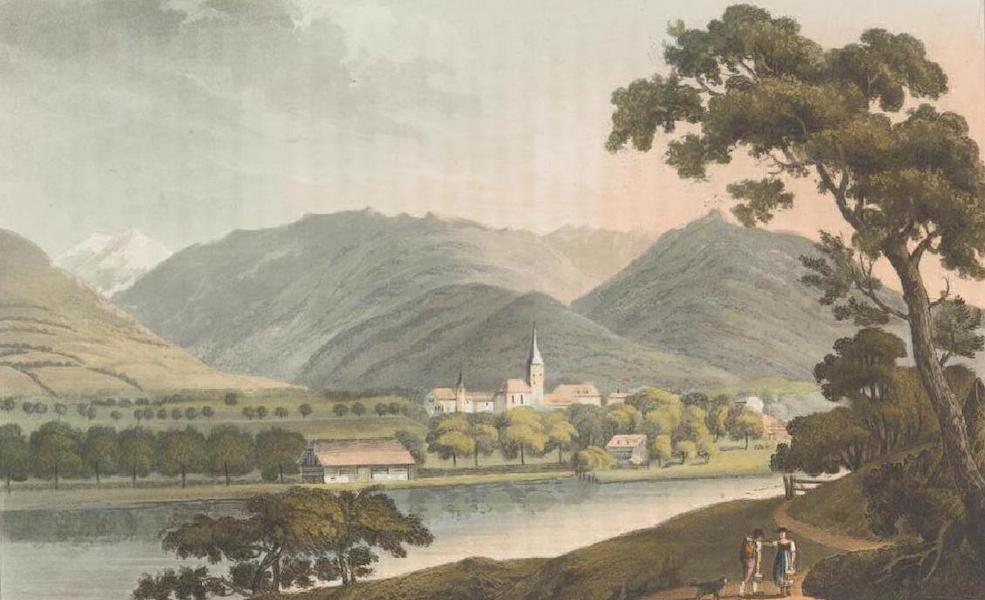 Picturesque Tour through the Oberland - View of Interlaken (1823)