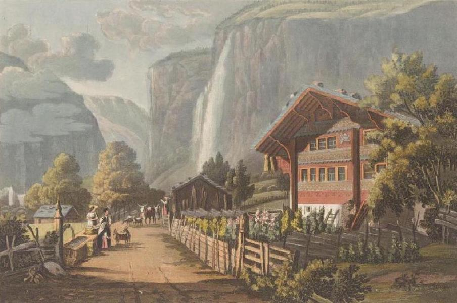 Picturesque Tour through the Oberland - Fall of the Staubbach (1823)