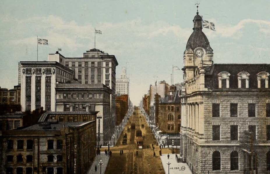 Picturesque Vancouver B.C. - Granville Street (1910)