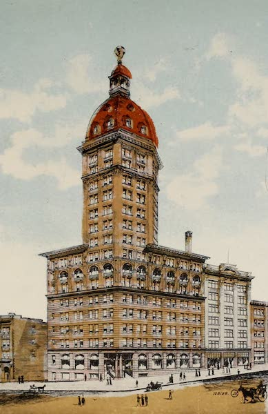 Picturesque Vancouver B.C. - World Building. Highest building in the British Empire : height 272 feet (1910)