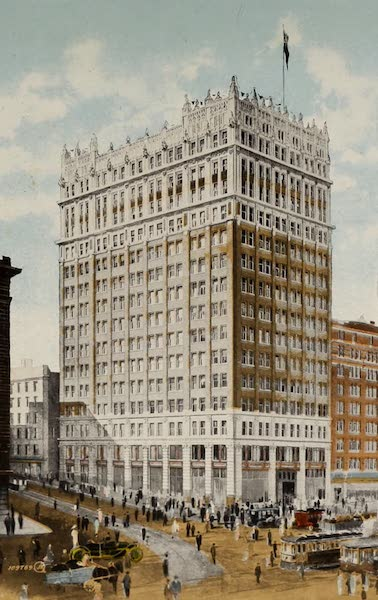 Picturesque Vancouver B.C. - Weart Building, Hastings Street (1910)