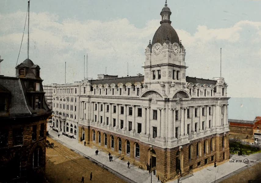 Picturesque Vancouver B.C. - Post Office (1910)