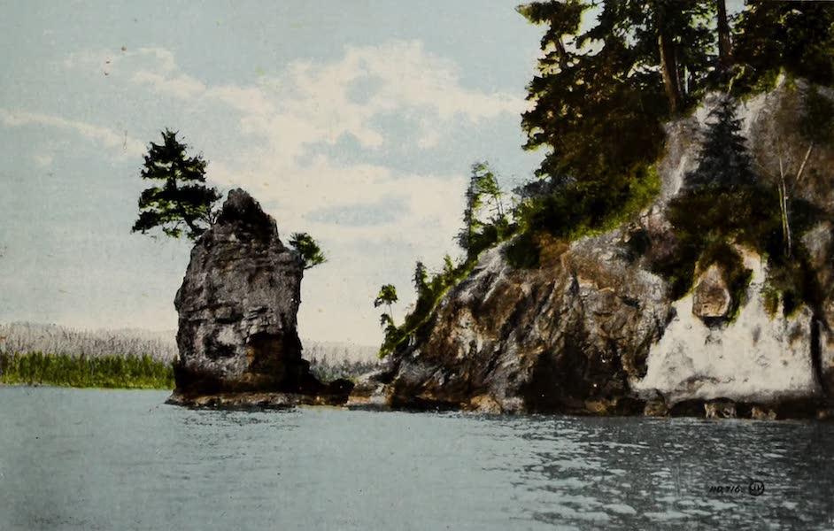 Picturesque Vancouver B.C. - Siwash Rock, Stanley Park (1910)