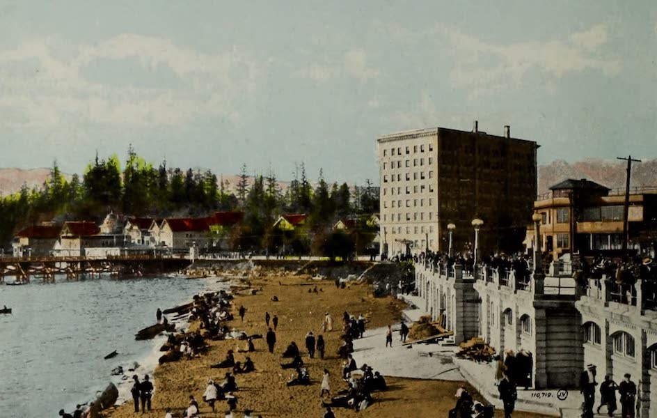 Picturesque Vancouver B.C. - English Bay, showing Sylvia Court (1910)