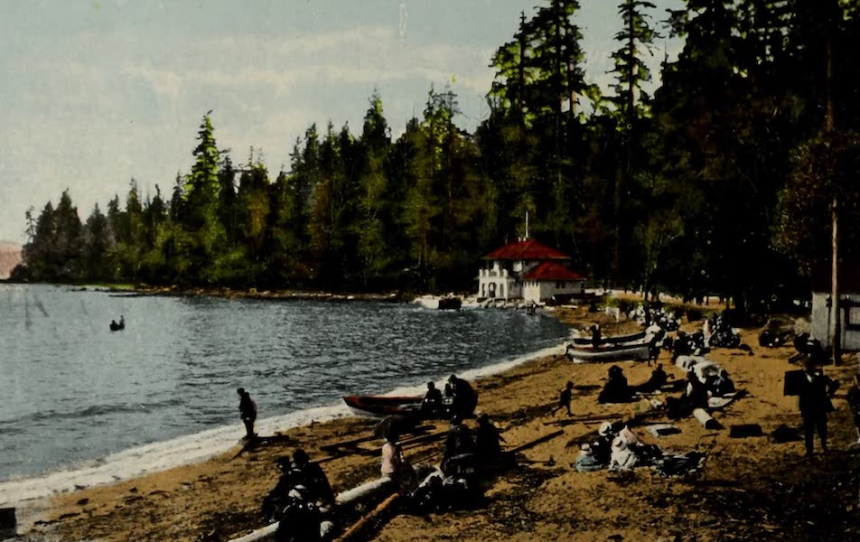 Picturesque Vancouver B.C. - Second Beach, Stanley Park (1910)