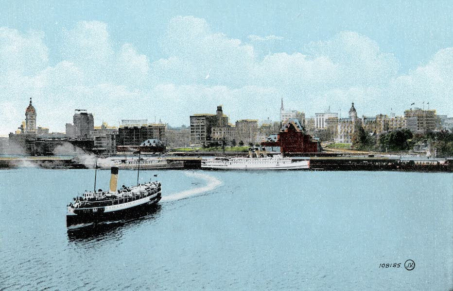 Picturesque Vancouver B.C. - The Water Front (1911)