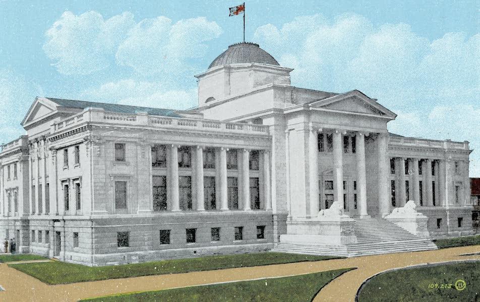 Picturesque Vancouver B.C. - Court House (1911)