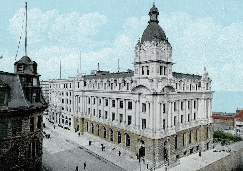 Picturesque Vancouver B.C. - Post Office (1911)