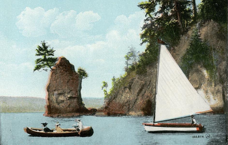 Picturesque Vancouver B.C. - Siwash Rock (1911)