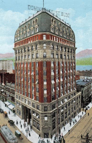 Picturesque Vancouver B.C. - Dominion Trust Building (1911)