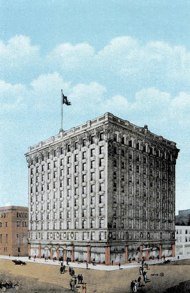 Picturesque Vancouver B.C. - Roger's Building, Corner Granville and Pender Streets (1911)
