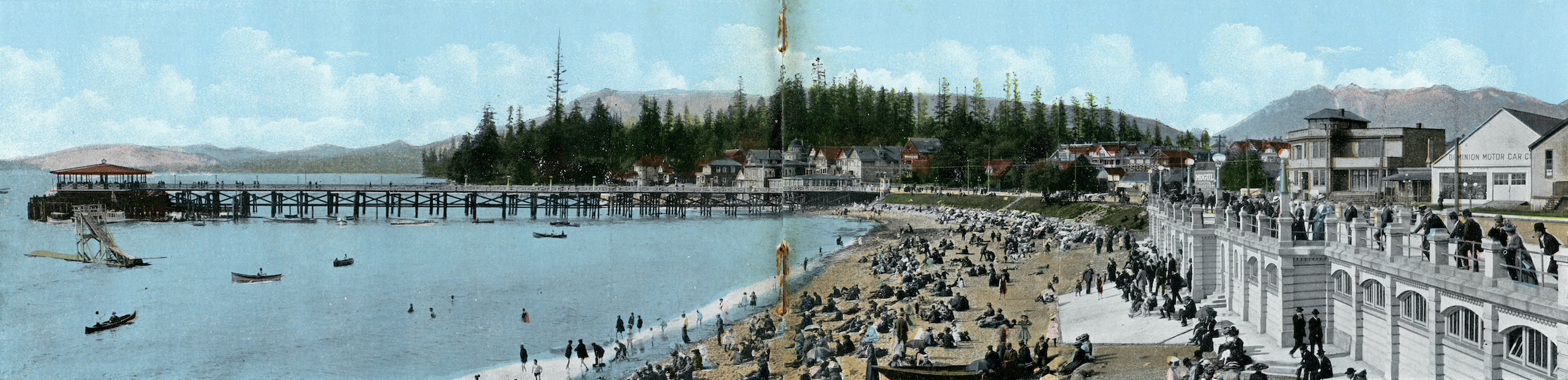 Picturesque Vancouver B.C. - English Bay (1911)