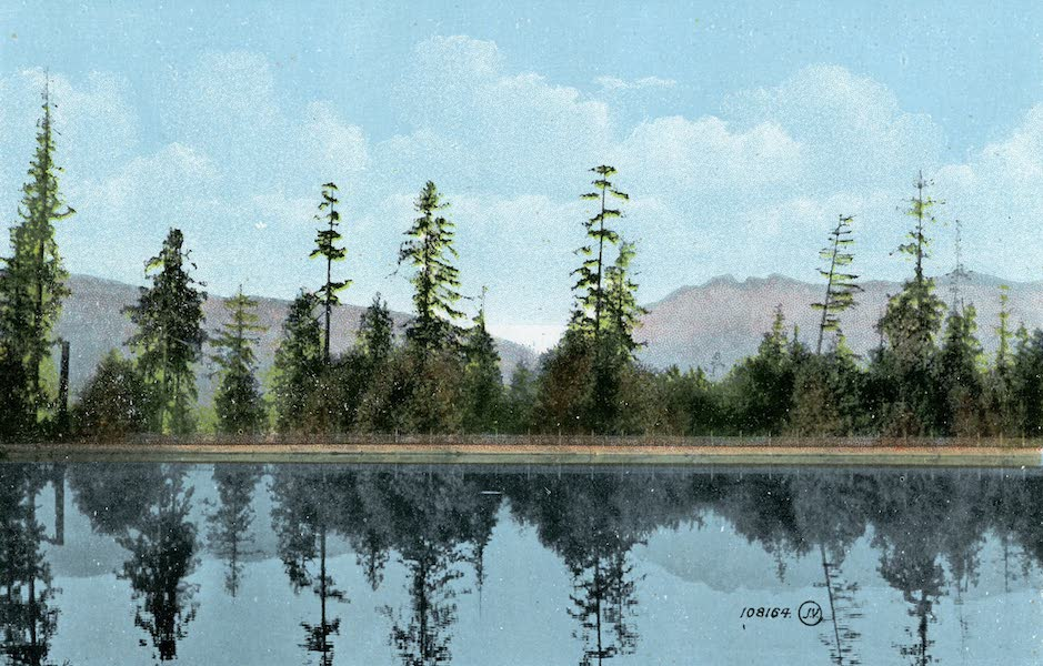 Picturesque Vancouver B.C. - Stanley Park Reservoir and Grouse Mountain (1911)