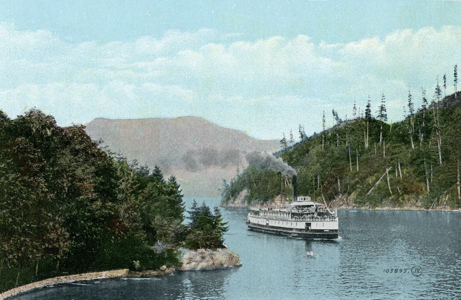 Picturesque Vancouver B.C. - View at Bowen Island, Howe Sound (1911)