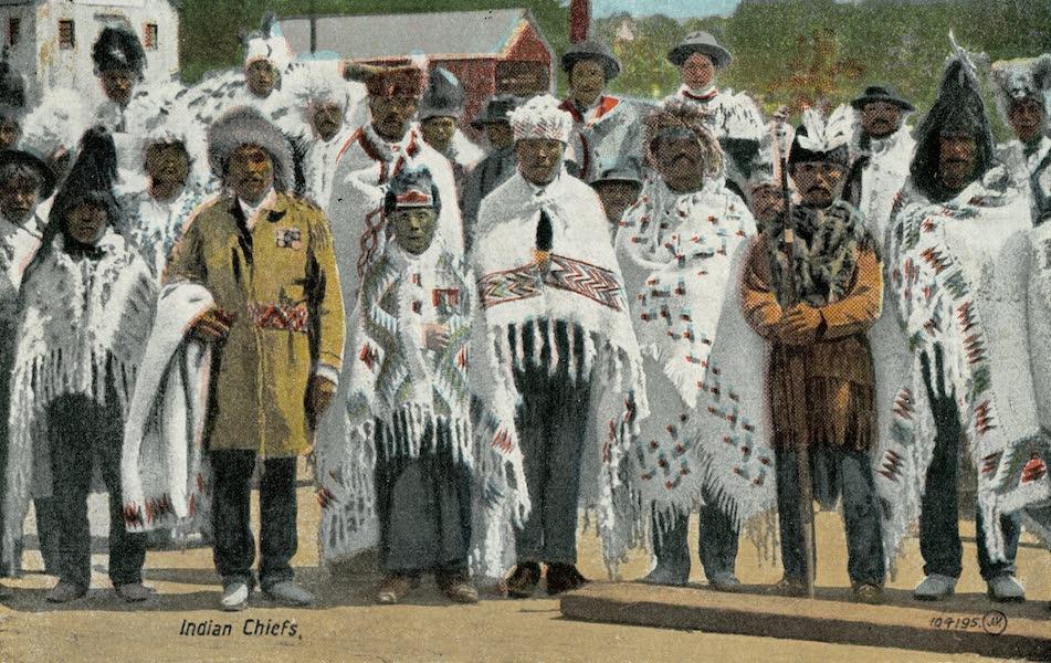 Picturesque Vancouver B.C. - Indian Chiefs (1911)