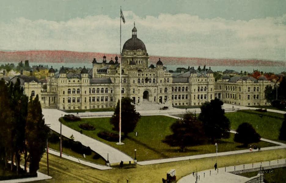 Picturesque Victoria - Parliament Buildings (1910)