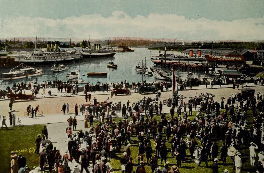 Picturesque Victoria - The Harbour from Empress Hotel (1910)