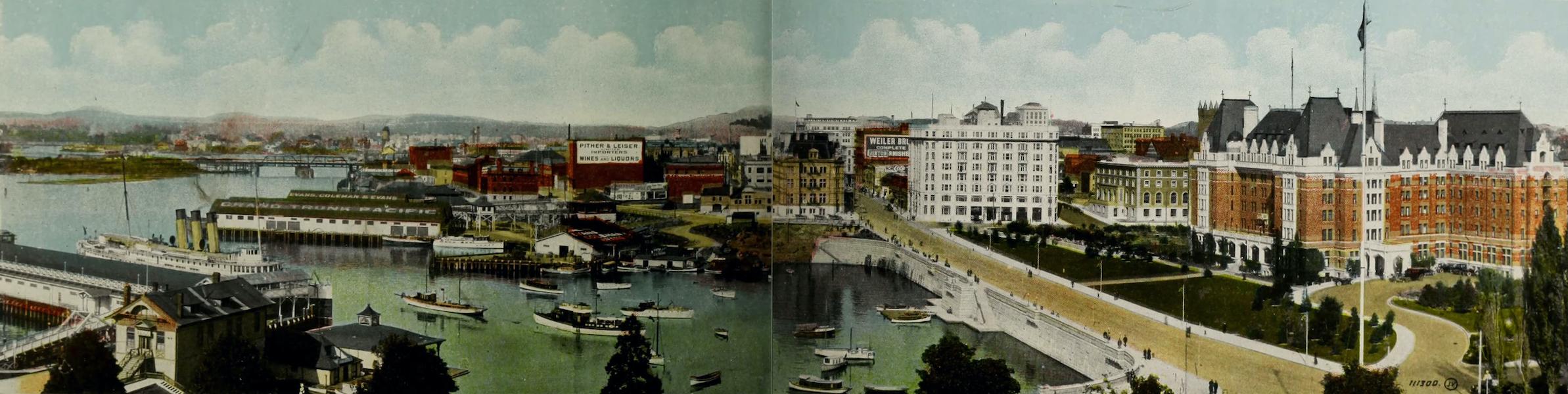Picturesque Victoria - Victoria B.C. (1910)