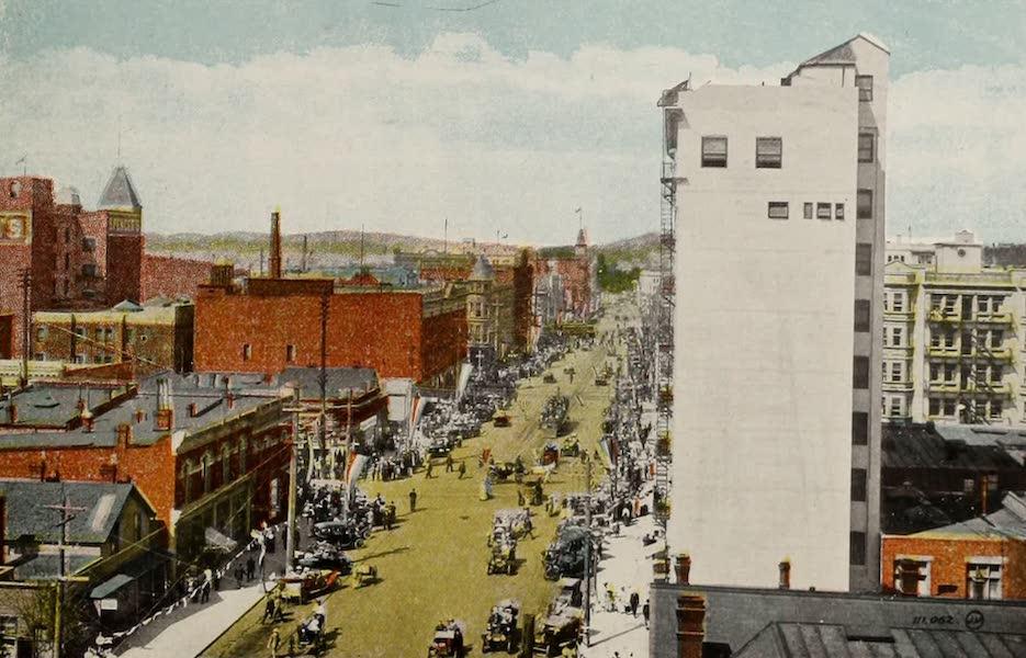 Picturesque Victoria - Douglas Street (1910)