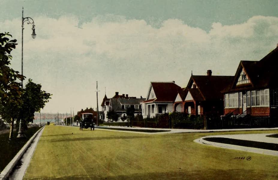 Picturesque Victoria - Dallas Road, Marine Drive (1910)