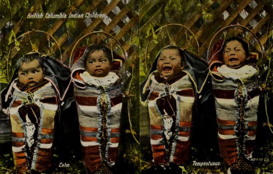 Picturesque Victoria - British Columbia Indian Children (1910)