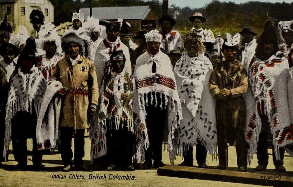 Picturesque Victoria - Indian Chiefs, British Columbia (1910)