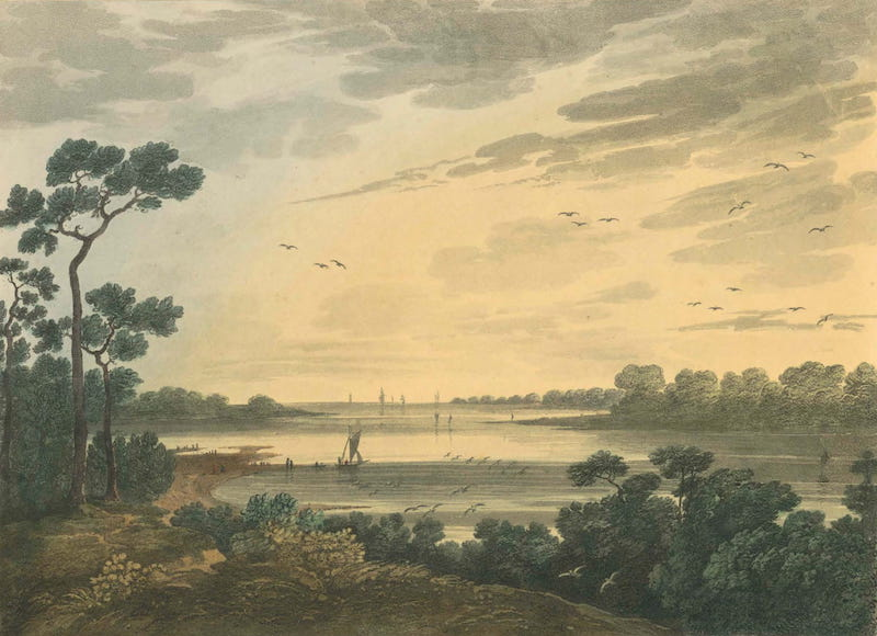 Picturesque Views of American Scenery - Lynnhaven Bay (1820)