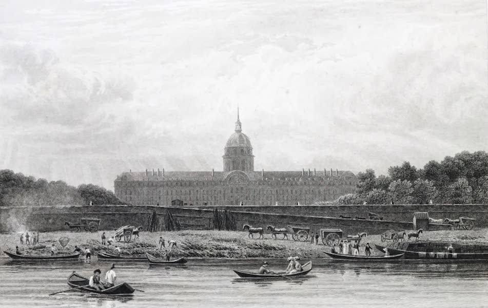 Picturesque Views of the City of Paris Vol. 1 - Hospital of the Invalids (1823)