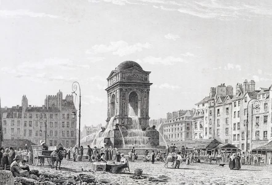 Picturesque Views of the City of Paris Vol. 1 - Fountain of the Innocents (1823)