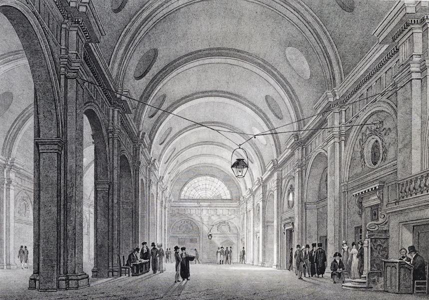 Picturesque Views of the City of Paris Vol. 1 - Great Hall of the Palace of Justice (1823)