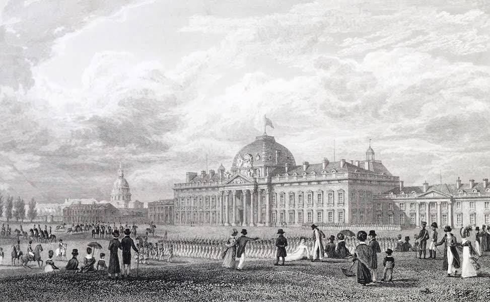 Picturesque Views of the City of Paris Vol. 2 - Military School (1823)