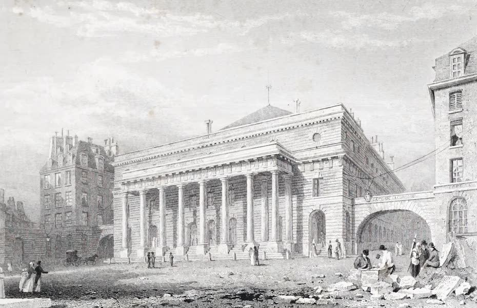 Picturesque Views of the City of Paris Vol. 2 - Fountain of Grenelle (1823)
