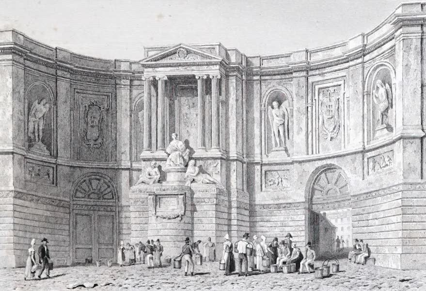 Picturesque Views of the City of Paris Vol. 2 - The Odeon Theatre (1823)