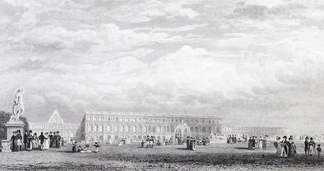 Picturesque Views of the City of Paris Vol. 2 - Palace of Versailles (1823)