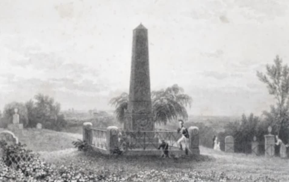 Picturesque Views of the City of Paris Vol. 2 - Tombs of Massena (1823)