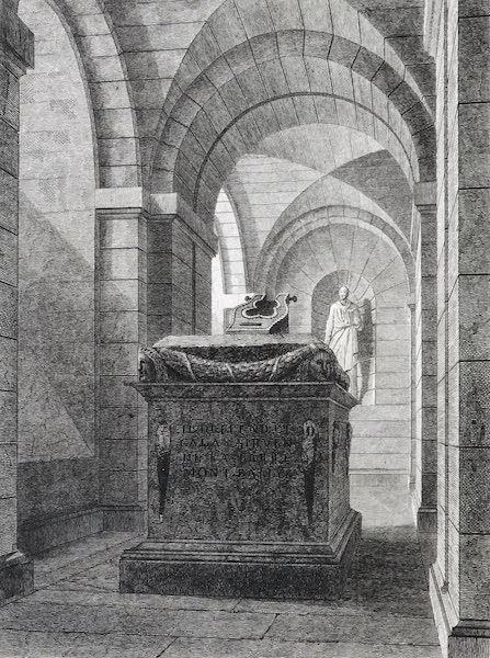 Picturesque Views of the City of Paris Vol. 2 - Voltaire's Monument in the Pantheon (1823)
