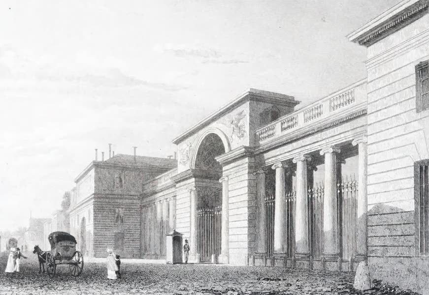 Picturesque Views of the City of Paris Vol. 2 - Palace of the Legion of Honour (1823)