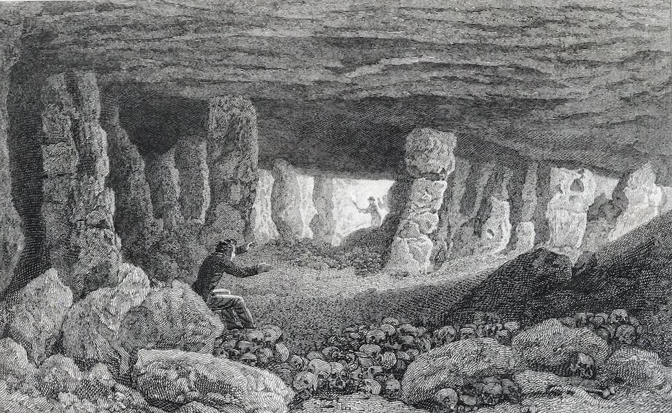 Picturesque Views of the City of Paris Vol. 2 - The Catacombs of Paris [I] (1823)
