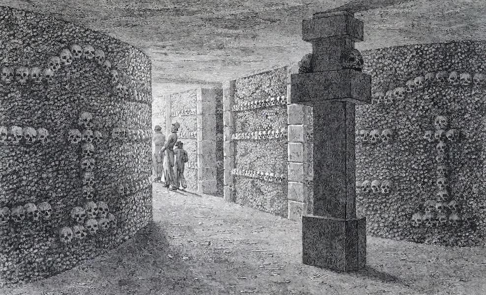 Picturesque Views of the City of Paris Vol. 2 - The Catacombs of Paris [II] (1823)