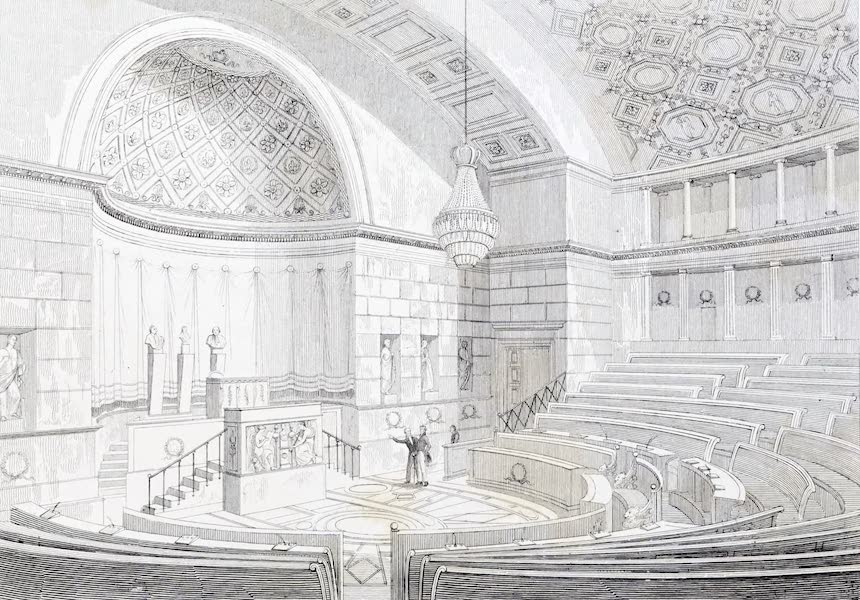 Picturesque Views of the City of Paris Vol. 2 - Interior of the Chamber of Deputies (1823)